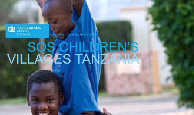 Job Opportunities at SOS Children's Villages Tanzania