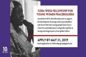 Cora weiss Fellowship