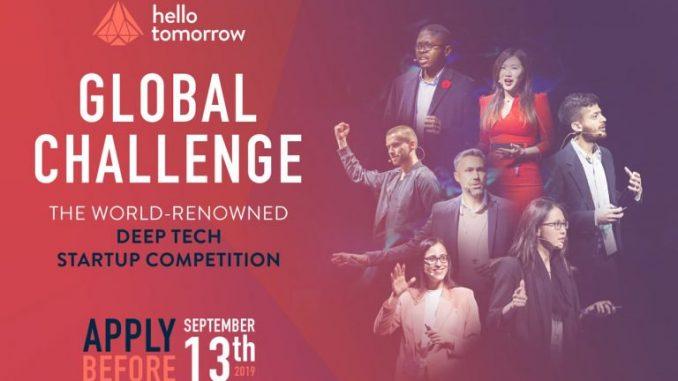 Hello Tomorrow Global Startup