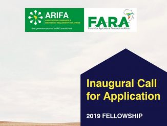 Agriculture Scholarships for Africans 2019