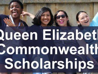 Queen Elizabeth Coomonwealth Scholarships