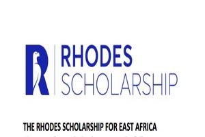 Rhodes Scholarships for Africa 2019