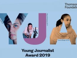 Thomson Foundation Young Journalist Award