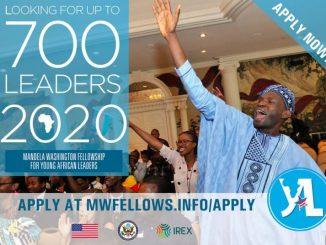 YALI 2020 Mandela Washington Fellowship
