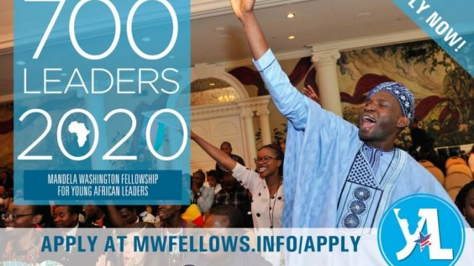 YALI 2020 Mandela Washington Fellowship