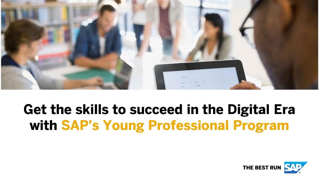 SAP Africa Young Professional Program 2021
