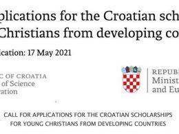 Croatian Government Scholarships