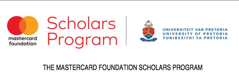 University of Pretoria MasterCard Foundation Scholars Program (MCFSP)