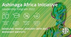 Ashinaga Africa Initiative Leadership Program 2022